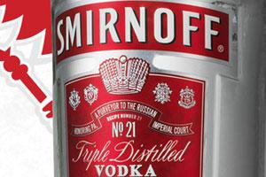 Smirnoff's new label design