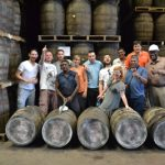 Last years motley crew at the El Dorado Distillery