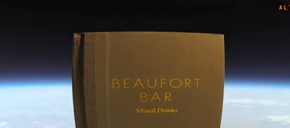 Beaufort Bar Send Their New Menu Into Space