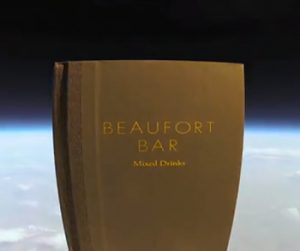 BarLifeUK News - Beaufort Bar Send Their New Menu Into Space (Sort Of)