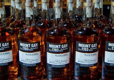 Mount Gay Black Barrel London Heat