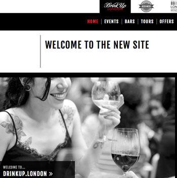 BarLifeUK News - London Cocktail Week Team Launch Drinkup.London Website