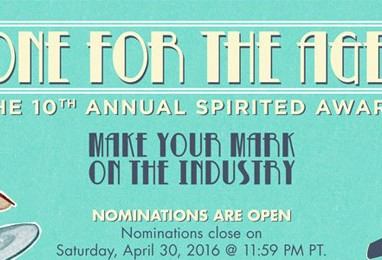 2016 Spirited Awards Accepting Nominations