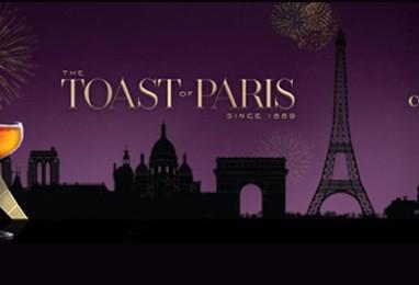 Courvoisier Toast of Paris Competition Returns