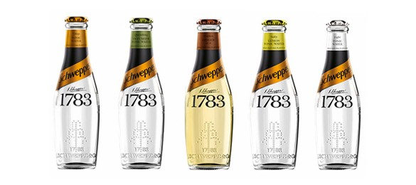 Schweppes Launch Premium 1783 Mixer Range as Part of Biggest GB Brand Investment To Date