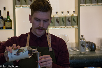 Jack and the classic concentration pour