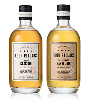 BarLifeUK Drinks - Win a Bottle of Newly-Released Four Pillars Barrel Aged Gin