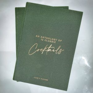 BarLifeUK News - Book Release: An Anthology of 12 Classic Cocktails, by Jake F Burger